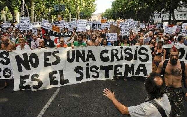 Manifestación durante el 15M (eldiario.es)
