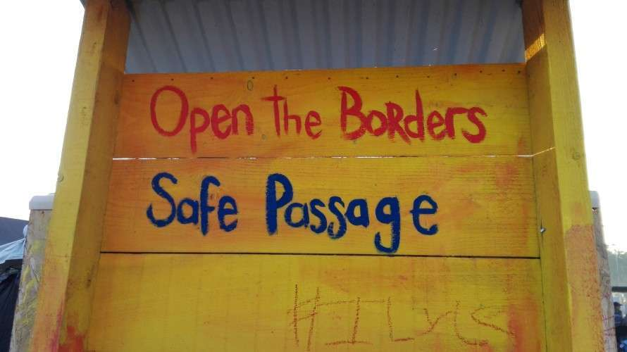Open the borders safe passage
